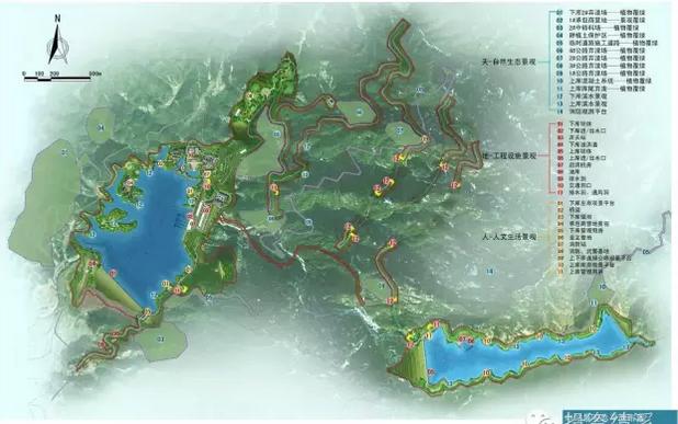 网站首页 旅游资讯  上下库区之间生态果园,生态竹林建设.