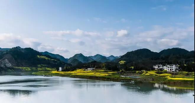 绩溪大山风景图片